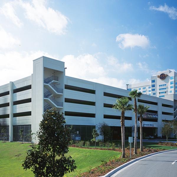 hard rock hotel and casino tampa parking garage