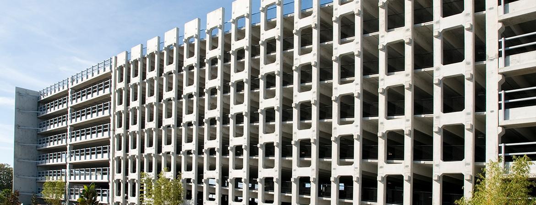highwoods bay center parking garage