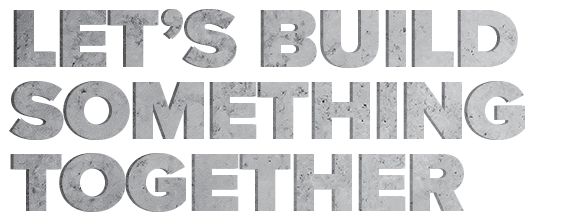 Let's Build Something Together