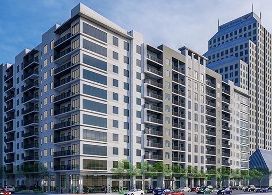 336 North Orange Apartments Exterior