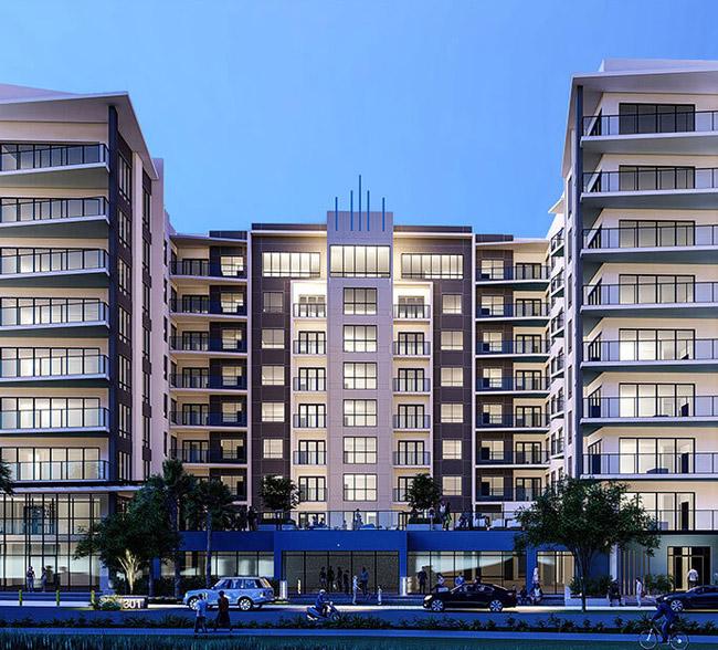 336 North Orange Apartment Building