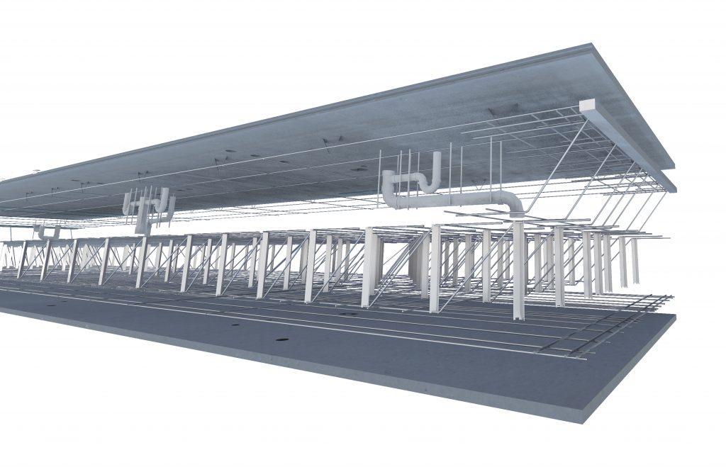 dual deck structure
