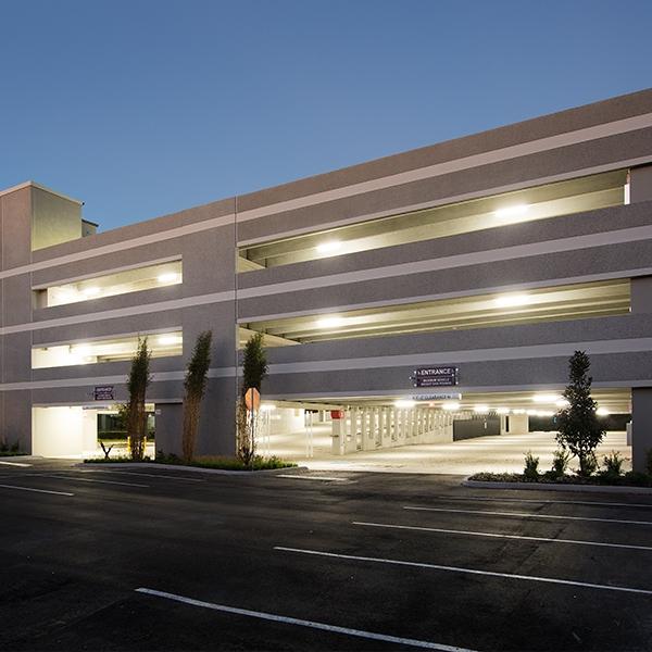 Keller Center Parking Garage