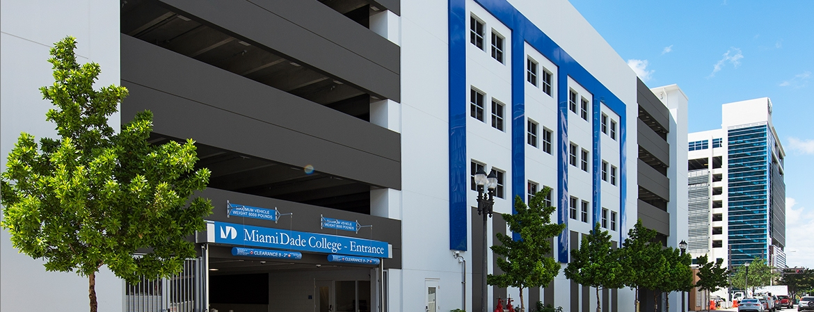 Miami Dade College Garage