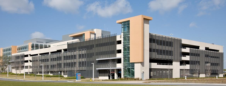 Nemour's Childrens Hospital Parking Garage