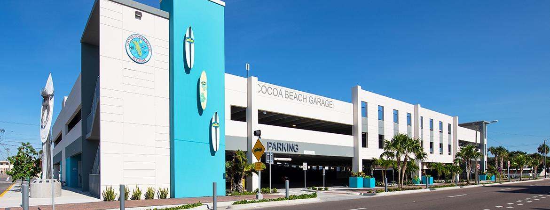 Cocoa Beach Parking Garage