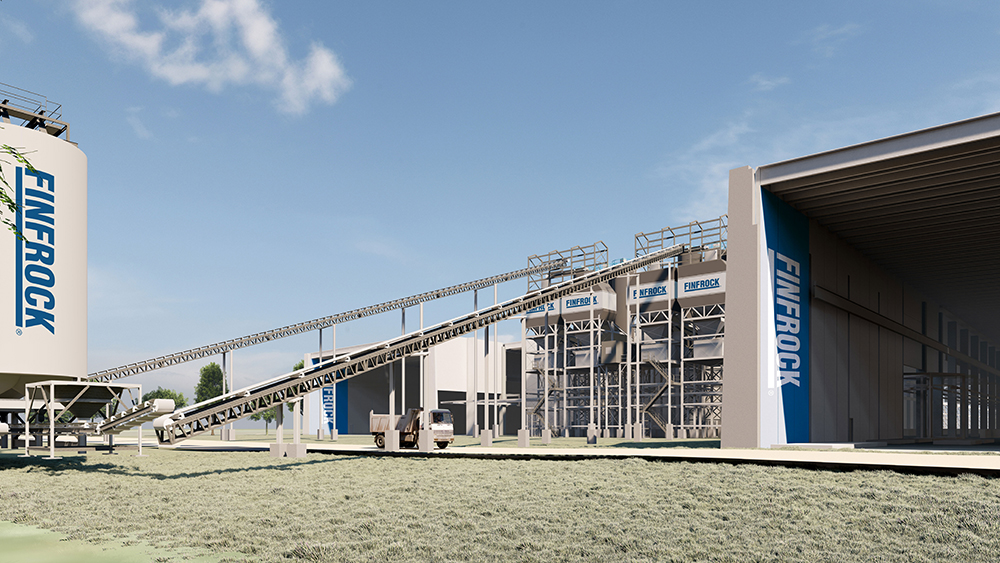 Rendering of Belle Glade Manufacturing Facility