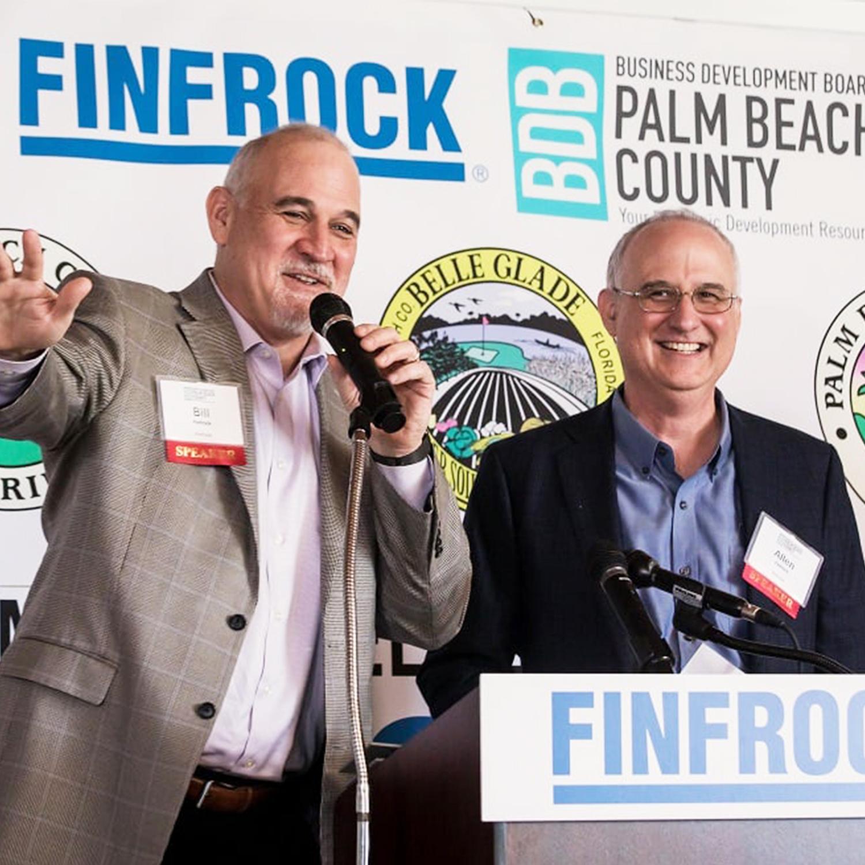 Allen Finfrock and Bill Finfrock in Belle Glade, FL