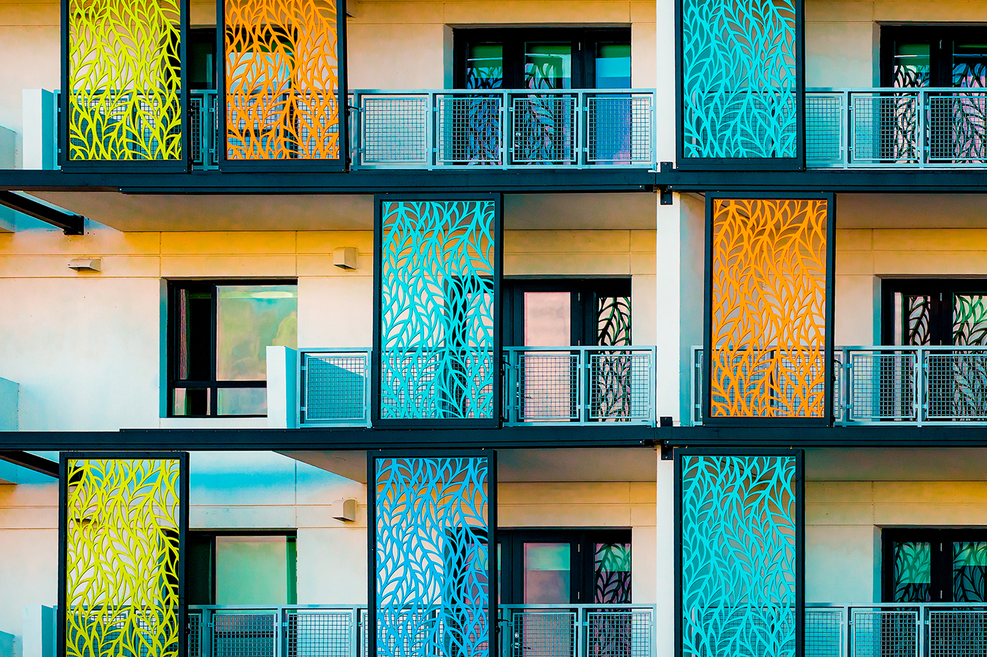 Art Deco Panels at Lake House Orlando